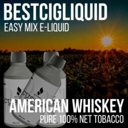 American Whisky Blend Natural Extracted Tobacco E-liquid