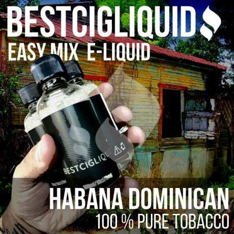 Habana Cigar Natural Extracted Tobacco E-liquid (Strong, Rich, Dominican)