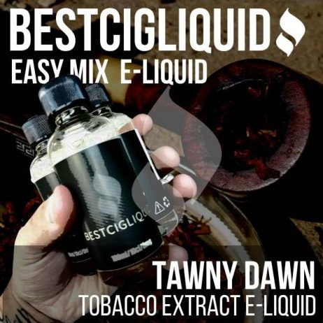 Tawny Dawn Tobacco E-liquid Easy Mix (Dark, Pipe) With Pure Tobacco Extract