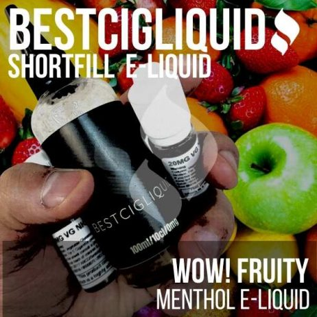 WOW Fruity E-liquid (Cold & Fruity)