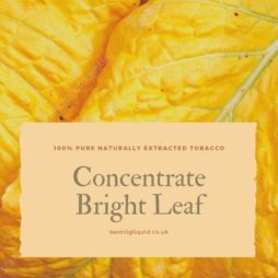 Bright Leaf Tobacco Concentrate
