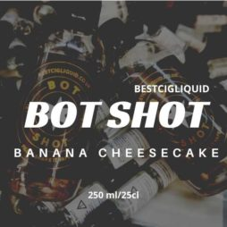 Banana Cheesecake Bottle Flavour Shot E-liquid