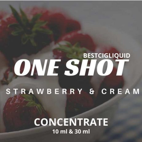 Strawberry & Cream One Shot Concentrate