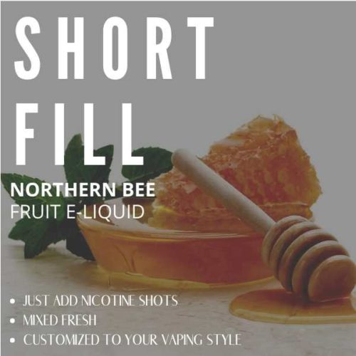 Northern Bee Shortfill with Nicotine Shots (Honey, Menthol)