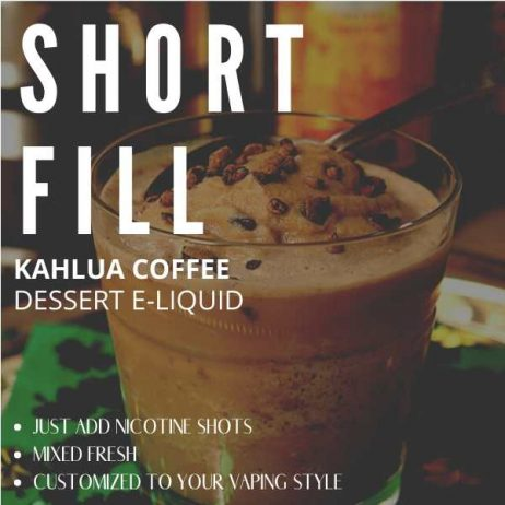 Kahlua Coffee  Shortfill with Nicotine Shots