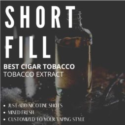 Best Cigar E-liquid Tobacco with Nicotine Shots
