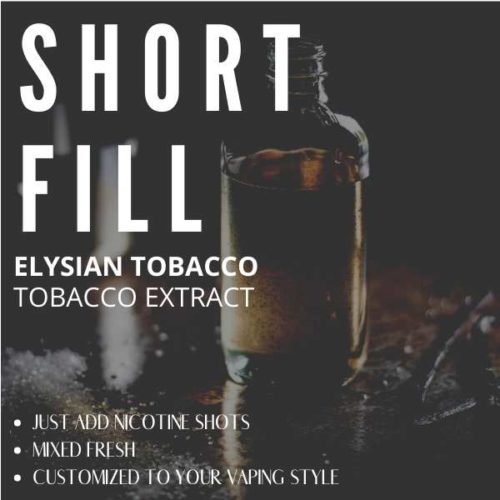 French Pipe Tobacco  Shortfill with Nicotine Shots