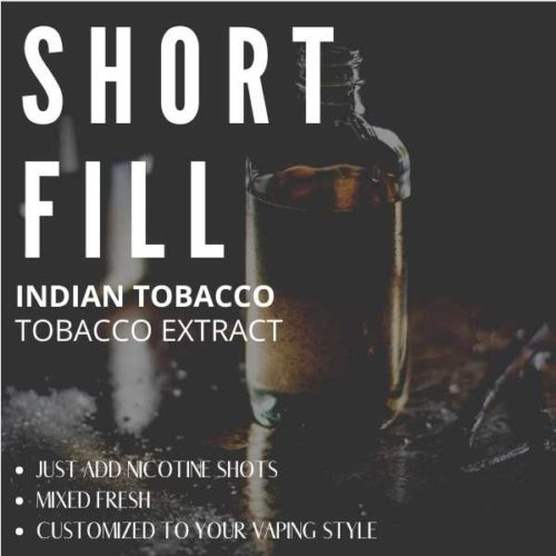 Indian Tobacco  Shortfill with Nicotine Shots (Spicy, Floral)