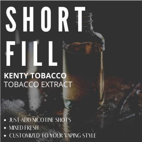 Kenty Tobacco  Shortfill with Nicotine Shots (Kentucky, Sweet Tobacco, Virginia)