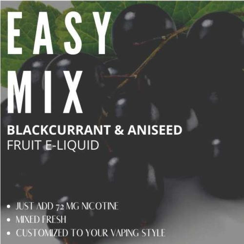 Blackcurrant and Aniseed Flavour E-liquid