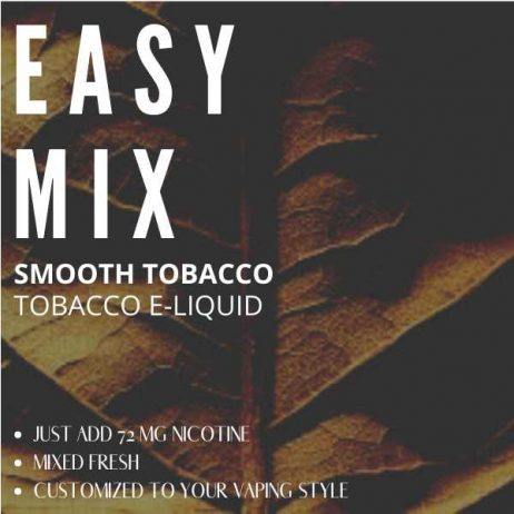 Smooth Tobacco E-liquid Easy Mix