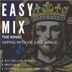 The King Vaping With Vic E-liquid