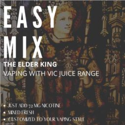 The Elder King vaping with vic