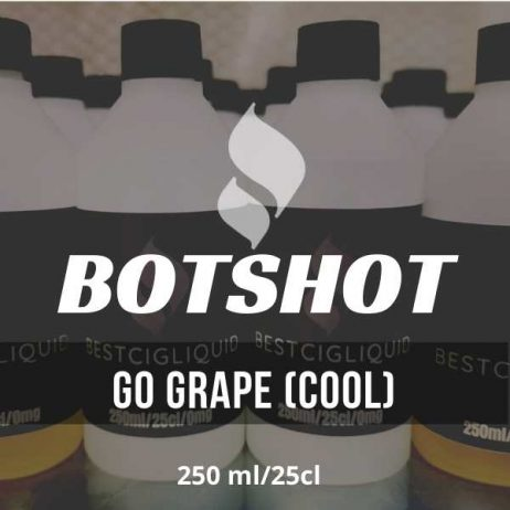Go Grape (cool) Bottle Flavour Shot  E-liquid