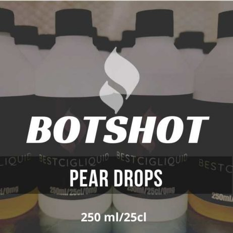 Pear Drops Bottle Shot E-liquid (Pear, Anise, Sweets)