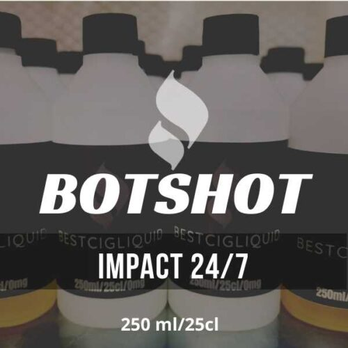Impact 24/7 Bottle Flavour Shot  E-liquid (Dragon fruit, Strawberry, Banana, Cream)