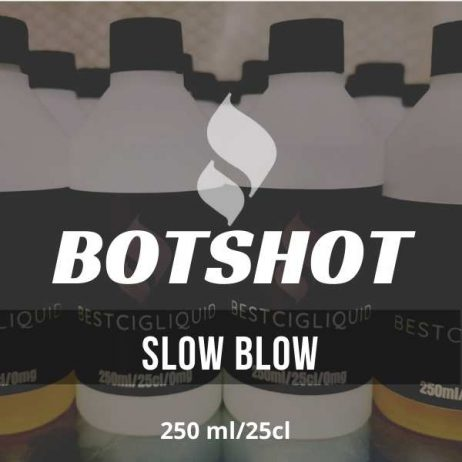 Slow Blow Bottle Flavour Shot  E-liquid (Pineapple, Lime, Mint, Soda)