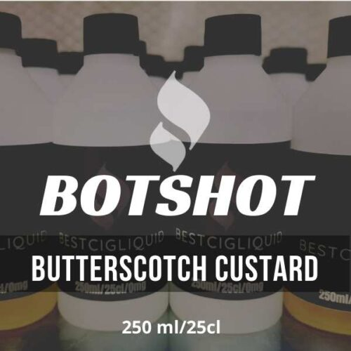 Butterscotch Custard Bottle Flavour Shot E-liquid (Butterscotch, Custard, Vanilla)