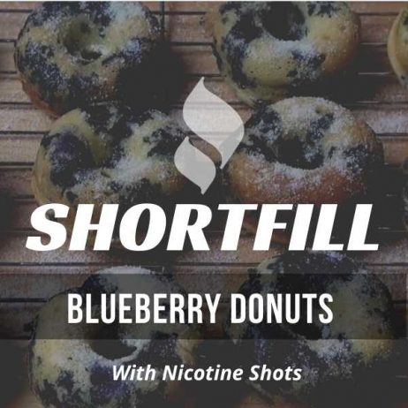 Blueberry Donuts Shortfill with Nicotine Shots