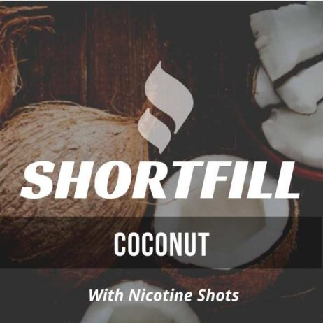 Coconut Shortfill with Nicotine Shots (Straight Coconut)
