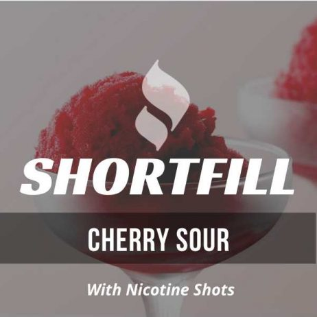 Cherry Sour Shortfill with Nicotine Shots (Sour, Cherry, Candy)