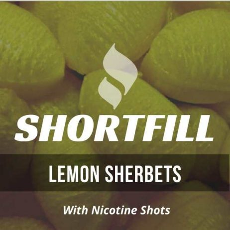 Lemon Sherbet  Shortfill with Nicotine Shots (Sherbet, Lemon)