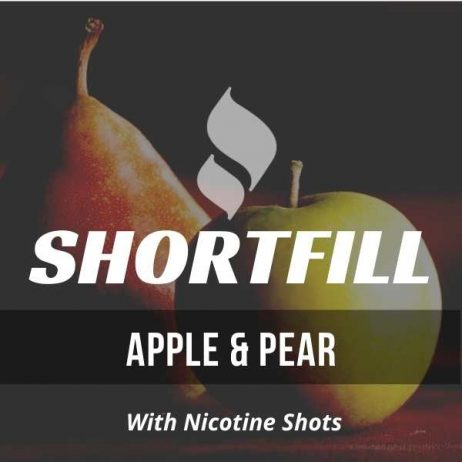 Apple & Pear  Shortfill with Nicotine Shots (Pear, Apple)