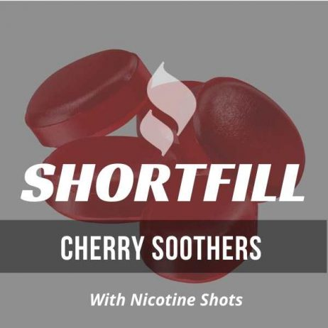 Cherry Soothers  Shortfill with Nicotine Shots (Cherry Cough Sweet)