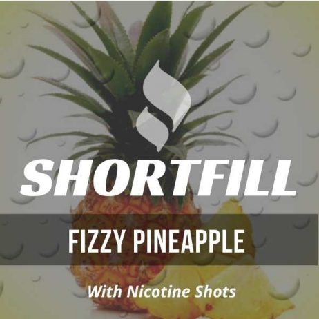 Fizzy Pineapple  Shortfill with Nicotine Shots (Pineapple, Fizz)