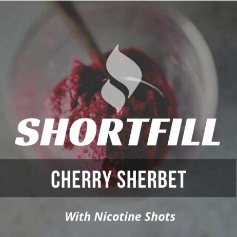 Cherry Sherbet  Shortfill with Nicotine Shots (Sherbet, Cherry, Tangy)
