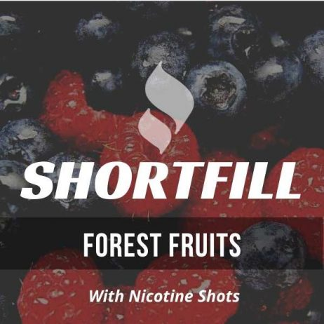 Forest Fruits Shortfill with Nicotine Shots (Dark Fruits, Berries)