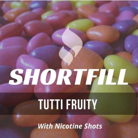 Tutti Fruity Shortfill with Nicotine Shots