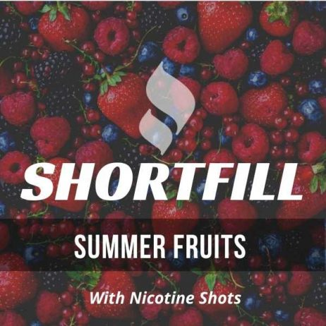 Summer Fruits  Shortfill with Nicotine Shots (Mixed Fruits)