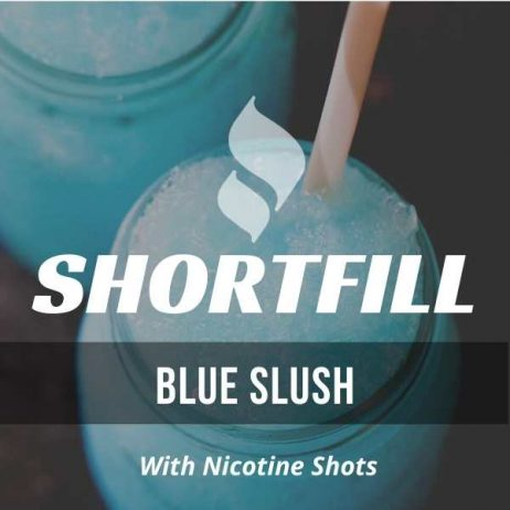 Blue Slush  Shortfill with Nicotine Shots (Blueberry, Raspberry, Slushie)