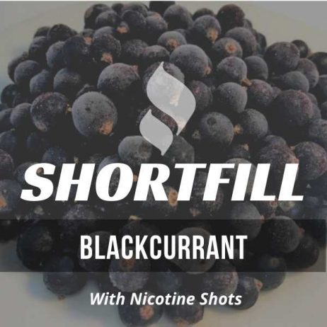 Blackcurrant Shortfill with Nicotine Shots