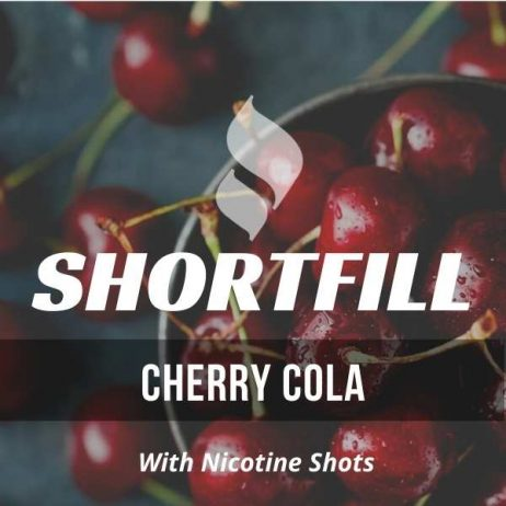 Cherry Cola Shortfill with Nicotine Shots (Cola, Cherry)