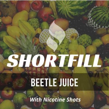 Beetle Juice Shortfill with Nicotine Shots (Mixed Fruit)