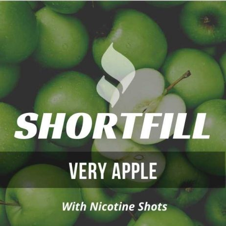Very Apple  Shortfill with Nicotine Shots (Intense Apple)