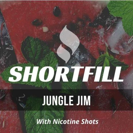 Jungle Jim Shortfill with Nicotine Shots (Watermelon, Fruits, Anise)