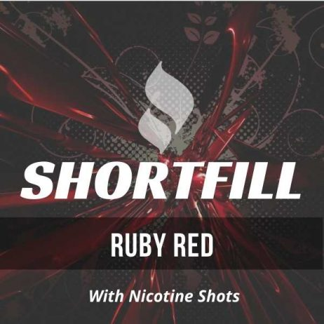 Ruby Red Shortfill with Nicotine Shots (Red Astaire)
