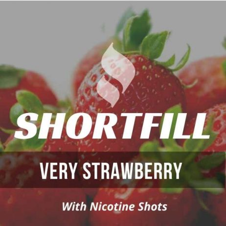 Very Strawberry  Shortfill with Nicotine Shots (Intense Strawberry)