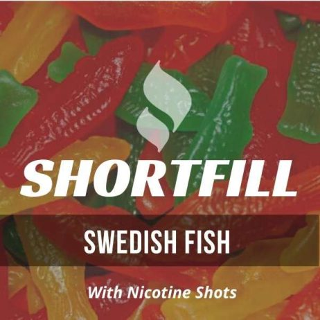 Swedish Fish  Shortfill with Nicotine Shots (Sweetie, Jelly)