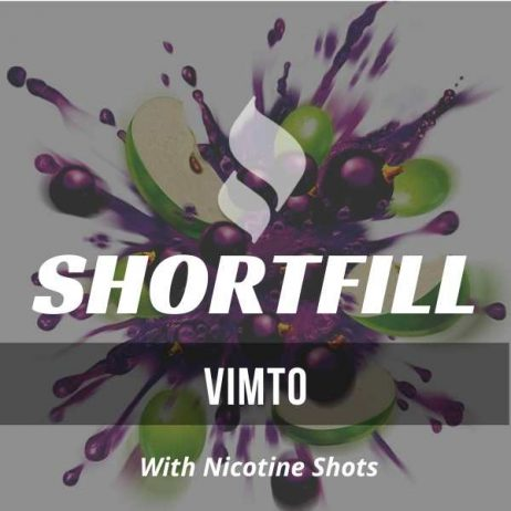 Vimto Shortfill with Nicotine Shots (Blackcurrant, Apple, Drink)