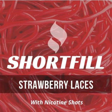 Strawberry Laces Shortfill with Nicotine Shots (Sweet Strawberry)