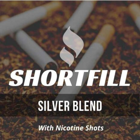 Tobacco flavour shortfill e-liquid