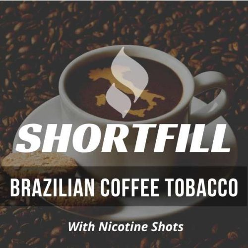 Roasted Coffee Tobacco Shortfill e-liquid