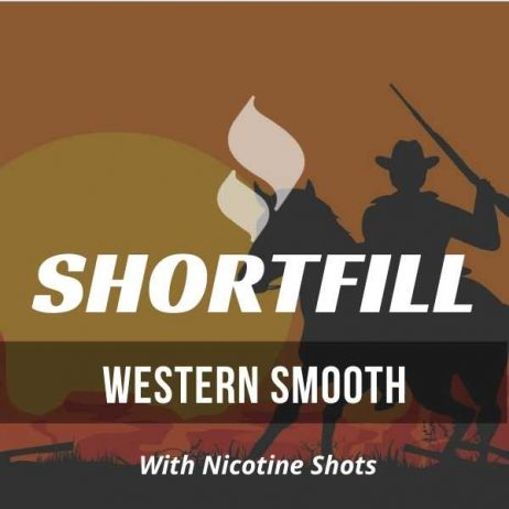Western Smooth Tobacco Shortfill with Nicotine Shots (USA, Tobacco)