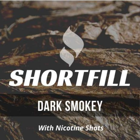 Dark Smokey Tobacco  Shortfill with Nicotine Shots (Latakia, Smokey)
