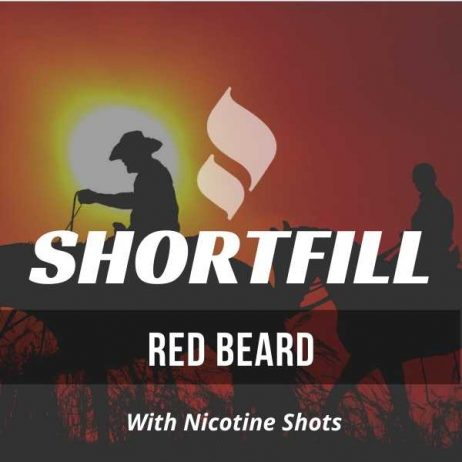 Red Beard Tobacco Shortfill with Nicotine Shots (Red Virginia Flavour)