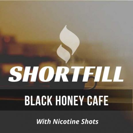 Black Honey Cafe Tobacco Shortfill with Nicotine Shots (Honey, Espresso)